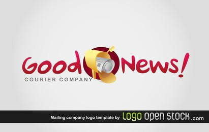 Mailing Company Logo Template
