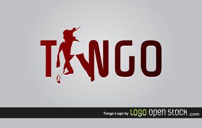 Modelo de logotipo de tango