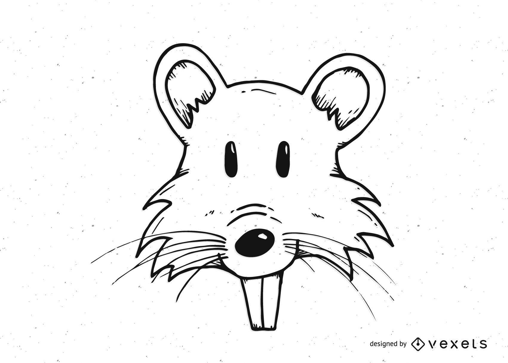 Cabe?a de rato