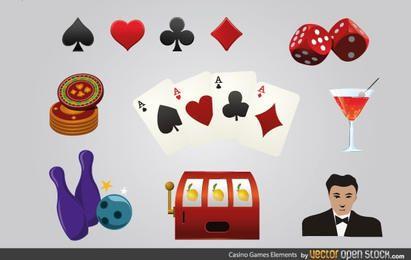 Elementos de juegos de casino