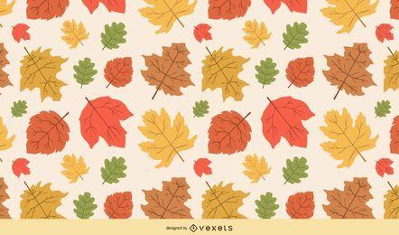 Hojas de otoño Vector 1
