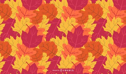 Vector Leaf Background