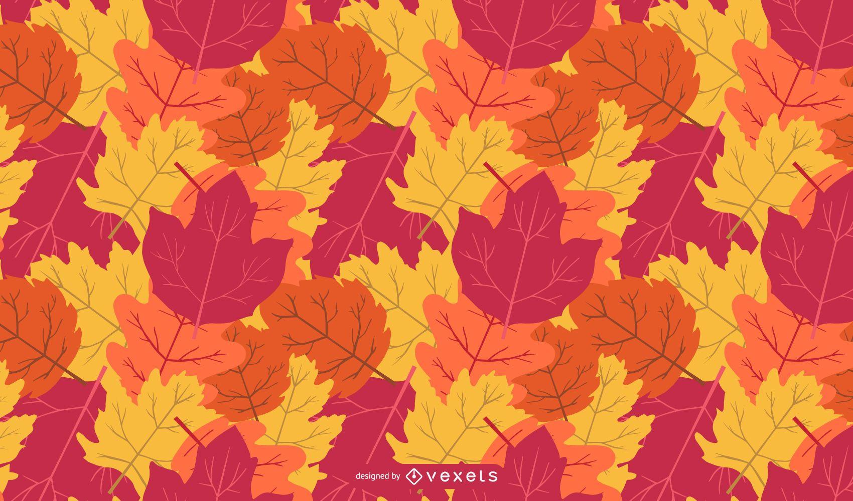 Vector Leaf Background