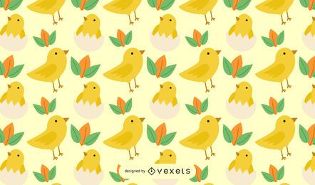 Seamless pattern chicken