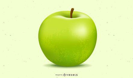 Vector libre de manzana