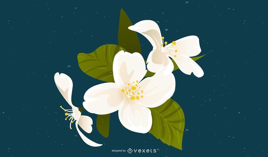 Vetor floral ai