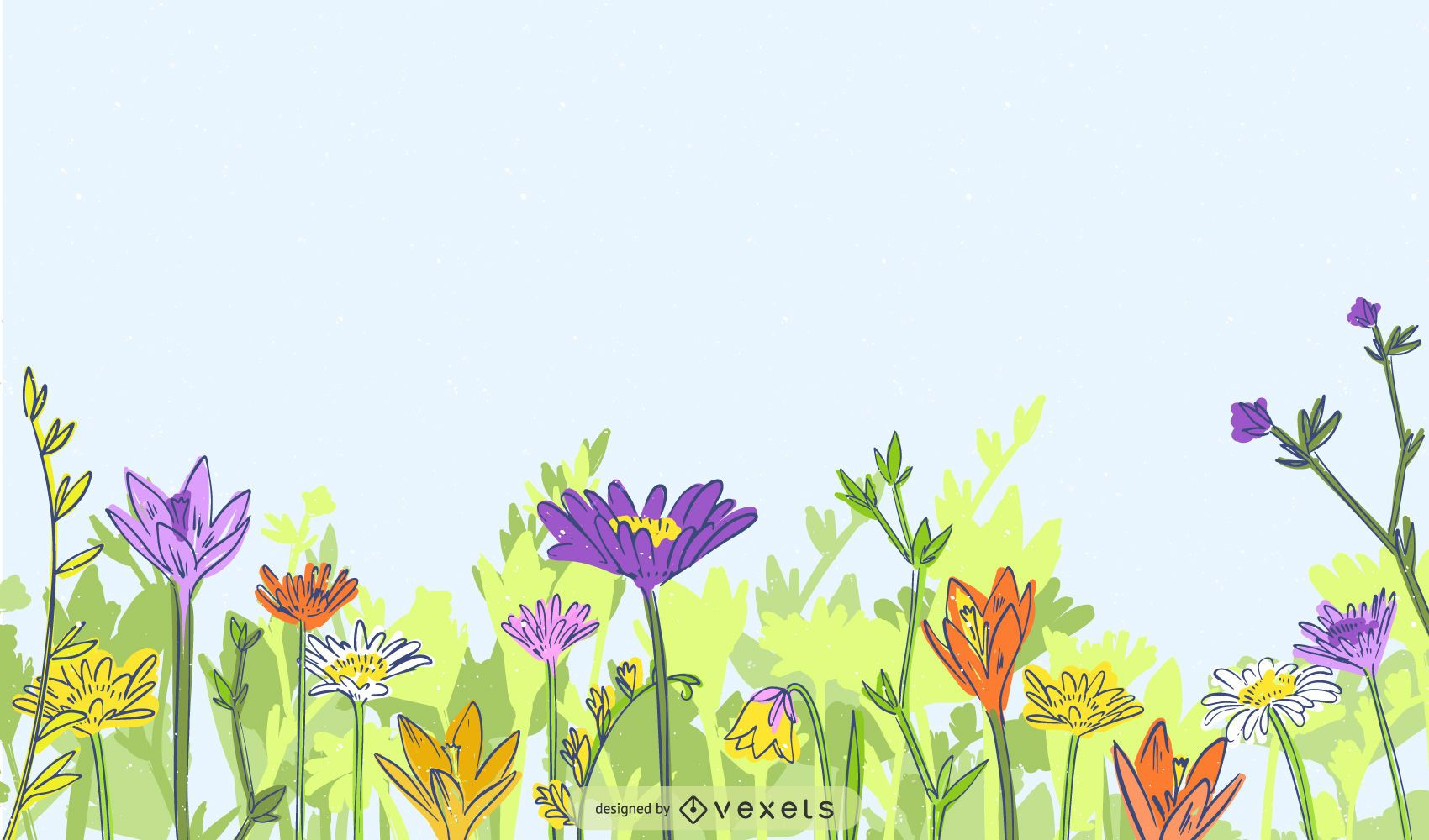 Vector flowers and florals