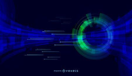 Oscuridad de fondo abstracto 2