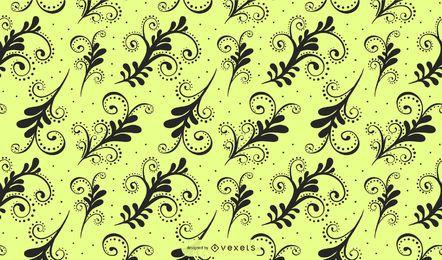 Vector floral elegante