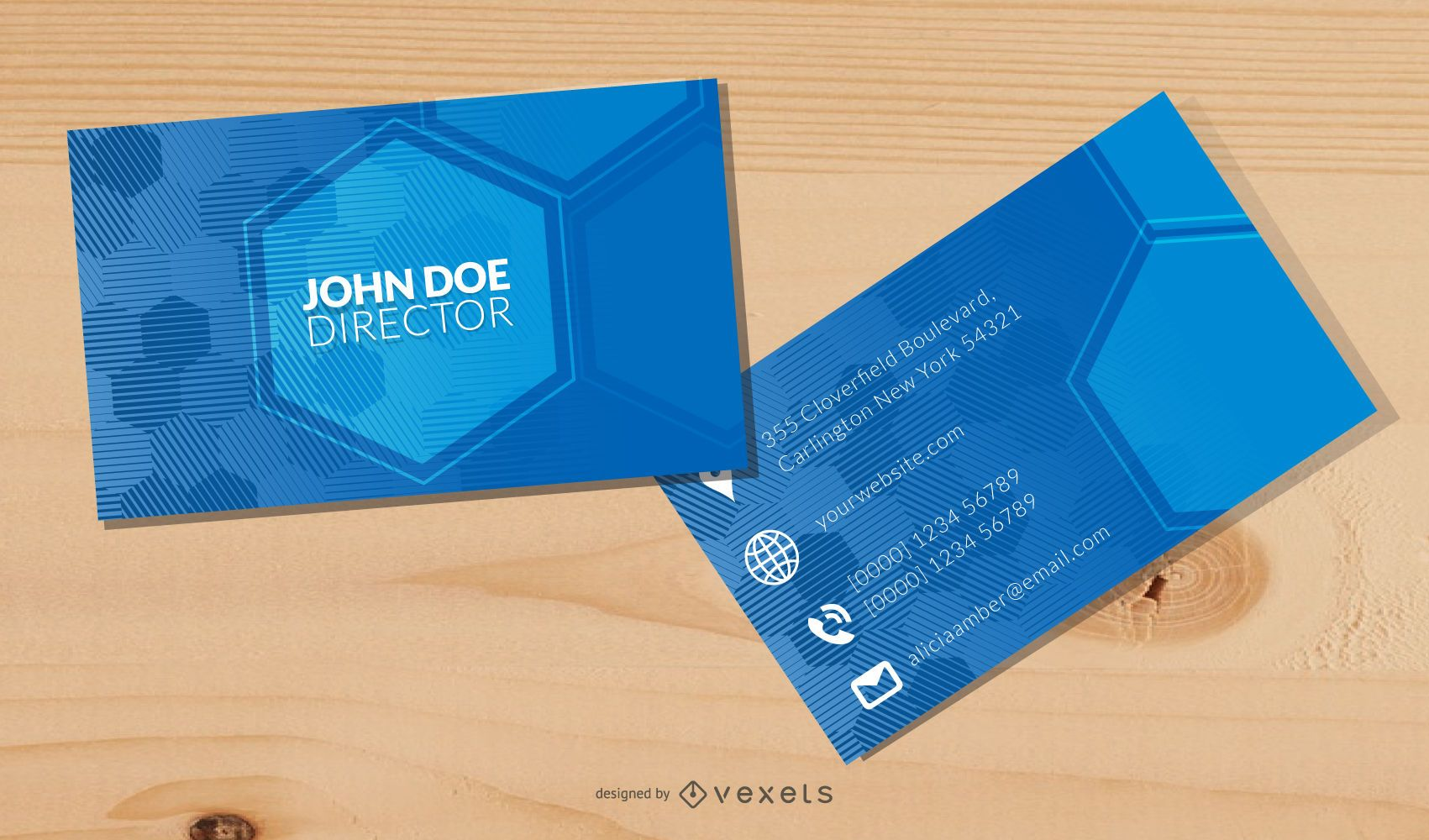 Vector Elegant Business card