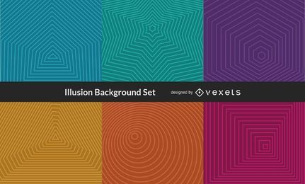 Vector Illusion Background