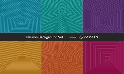 Vektor-Illusionshintergrund