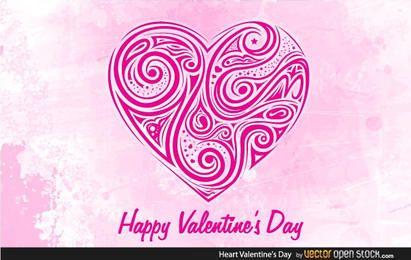 Corações dia dos namorados