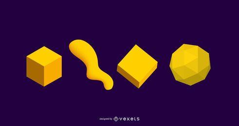 Elementos de design 3D