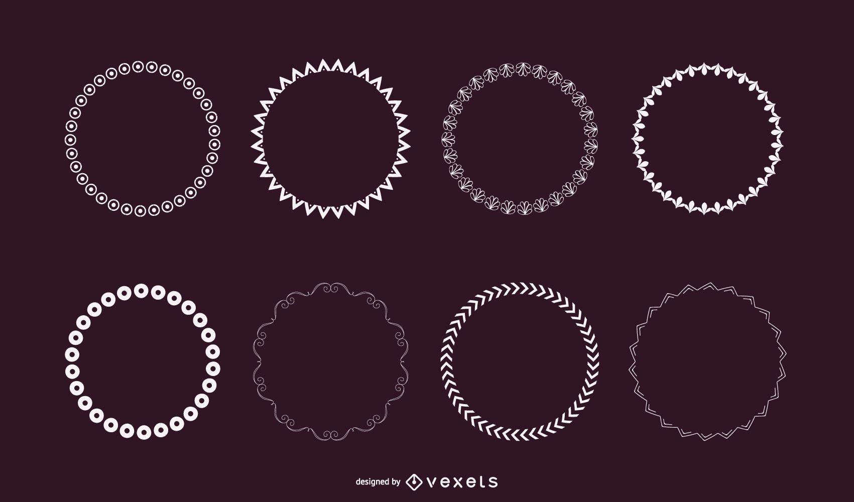 10 Illustrator Scatter Brush Set