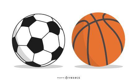 Futebol de vetor livre