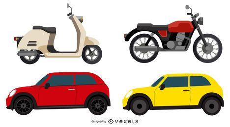 Vector coche 2