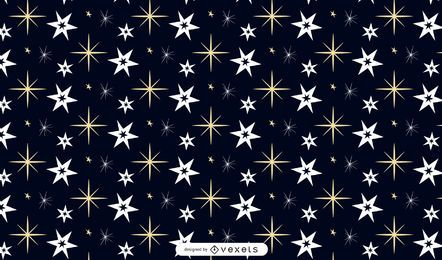 Un simple vector inconsútil estrella