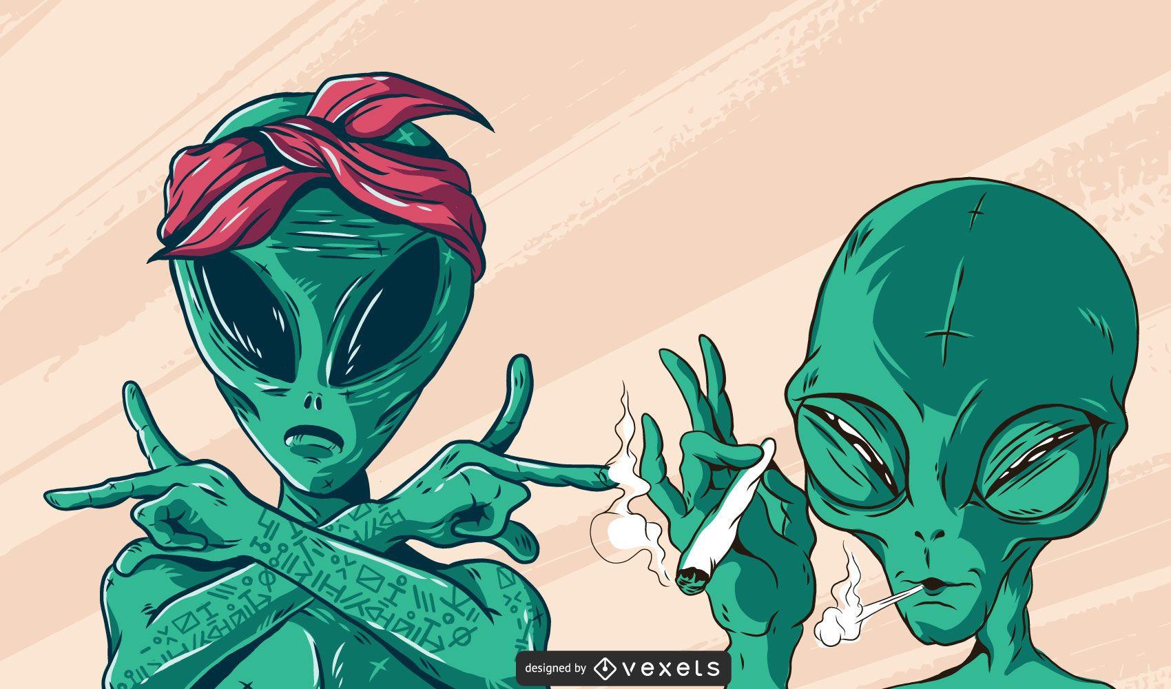 Extraterrestres geniales