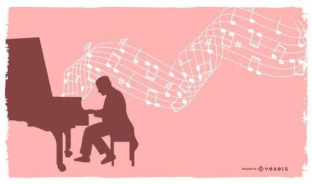 Ilustración de música gratis