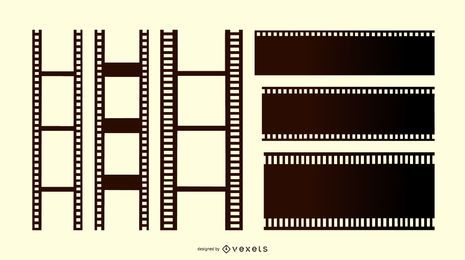 Film Strip Design Set