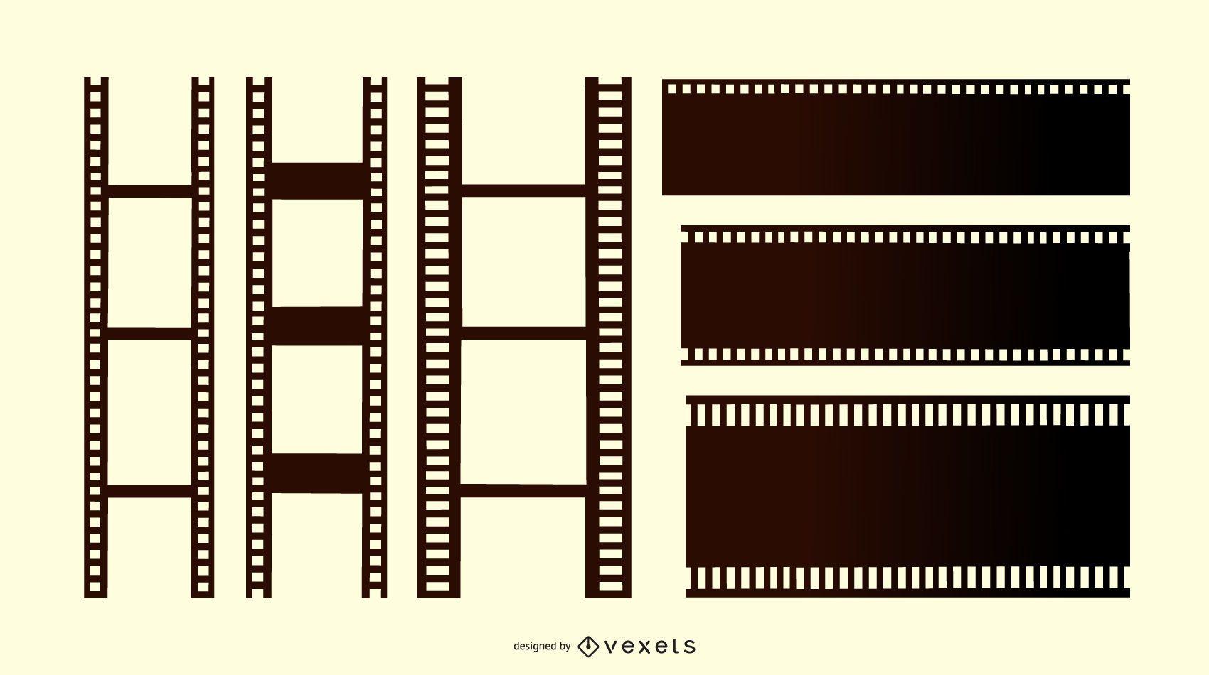 Film Strip Design Set
