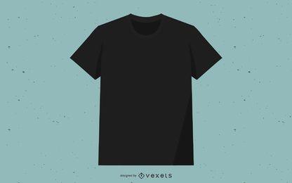 Camiseta Vector Negra