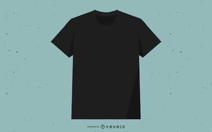 Camiseta Vector Negro