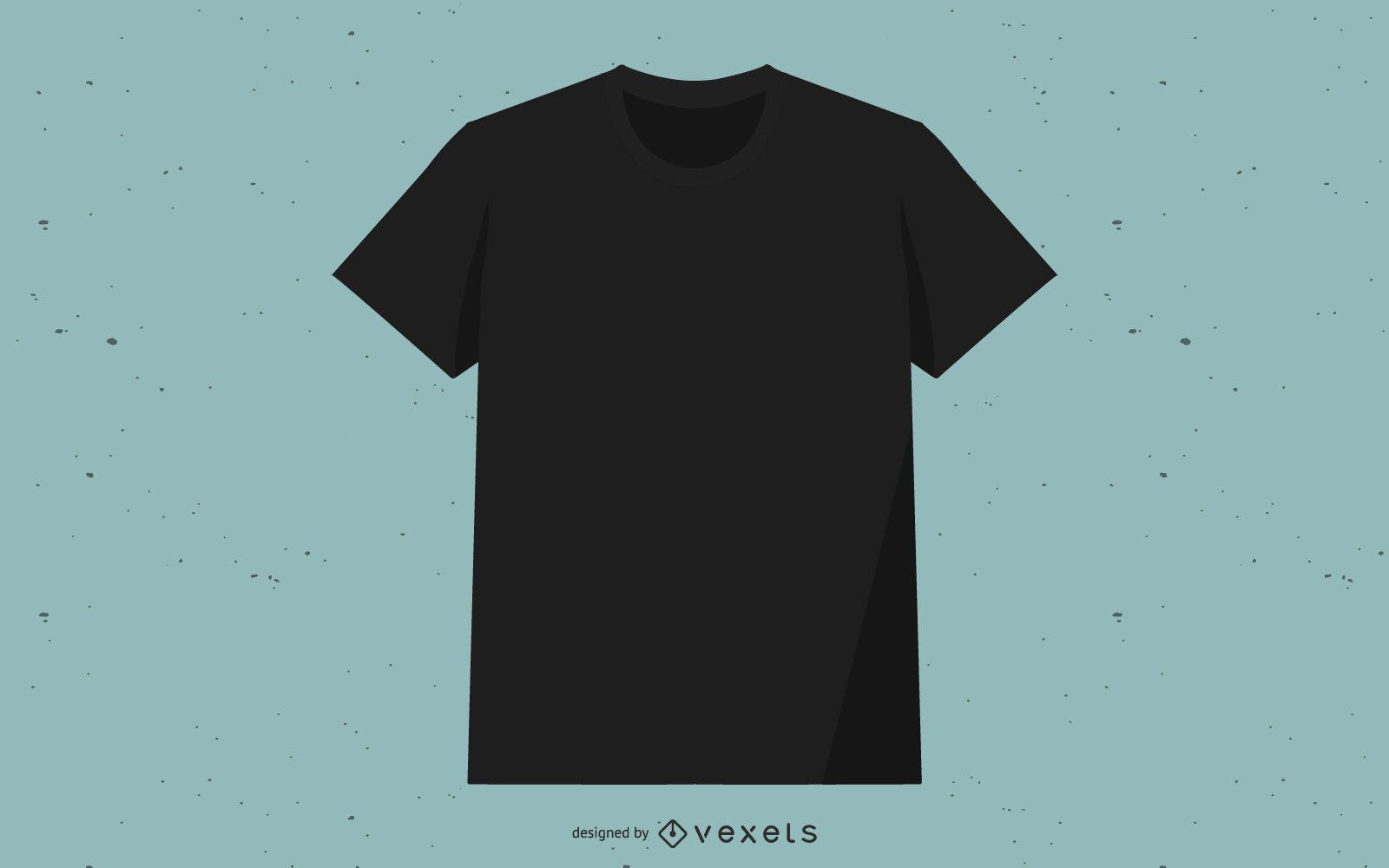 Black Vector T-Shirt