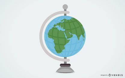 Globusvektor 2
