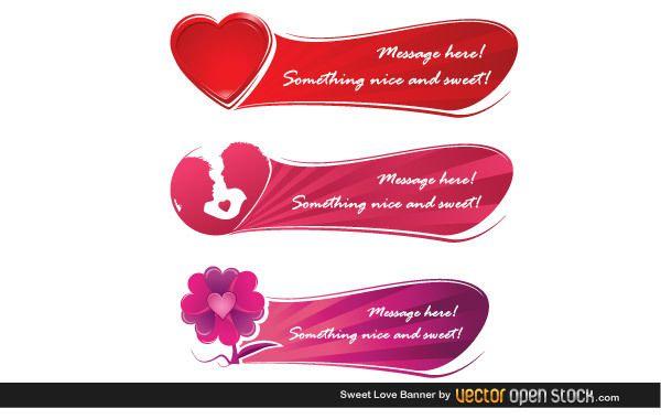 Banner de dulce amor