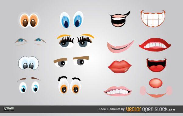 Elementos de la cara