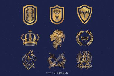 Heraldic Elements Design