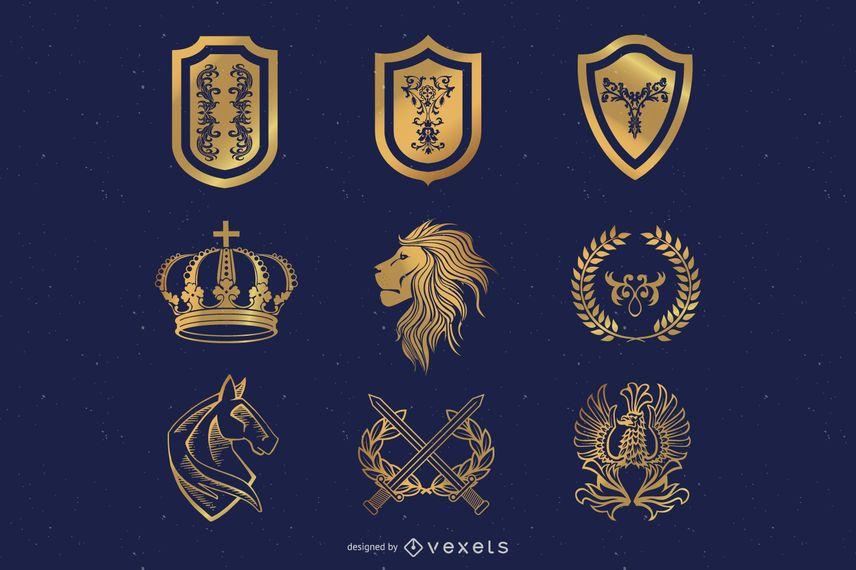 Heraldic Elements Design