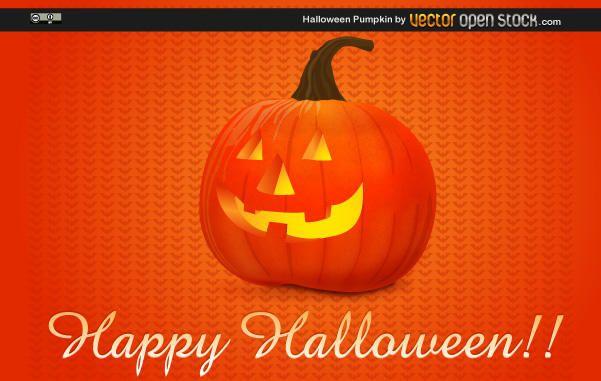 Glückliche Halloween Jack o Laterne