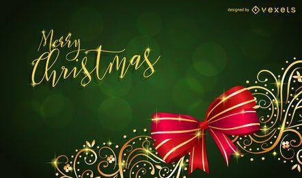 Weihnachtshintergrund für Ihr Design