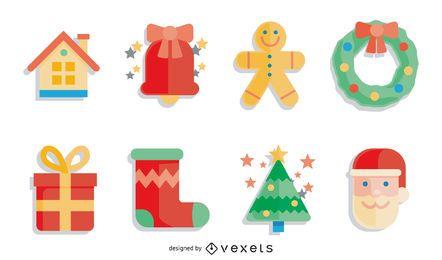 Navidad Vector Set1