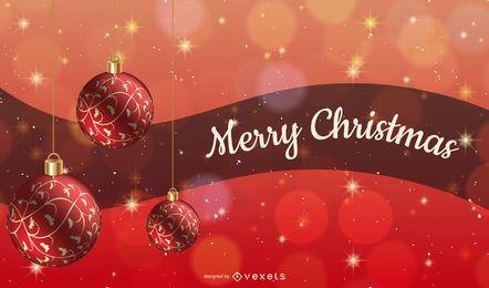 Merry christmas sparkling design