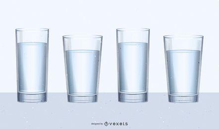 Glas-Set