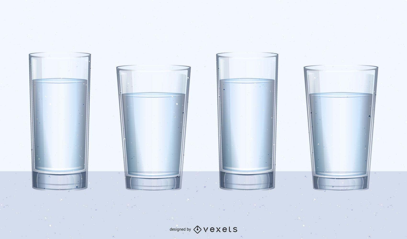 Juego de vidrio