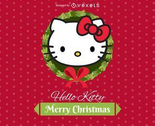 Mini tarjeta electrónica de Hello Kitty