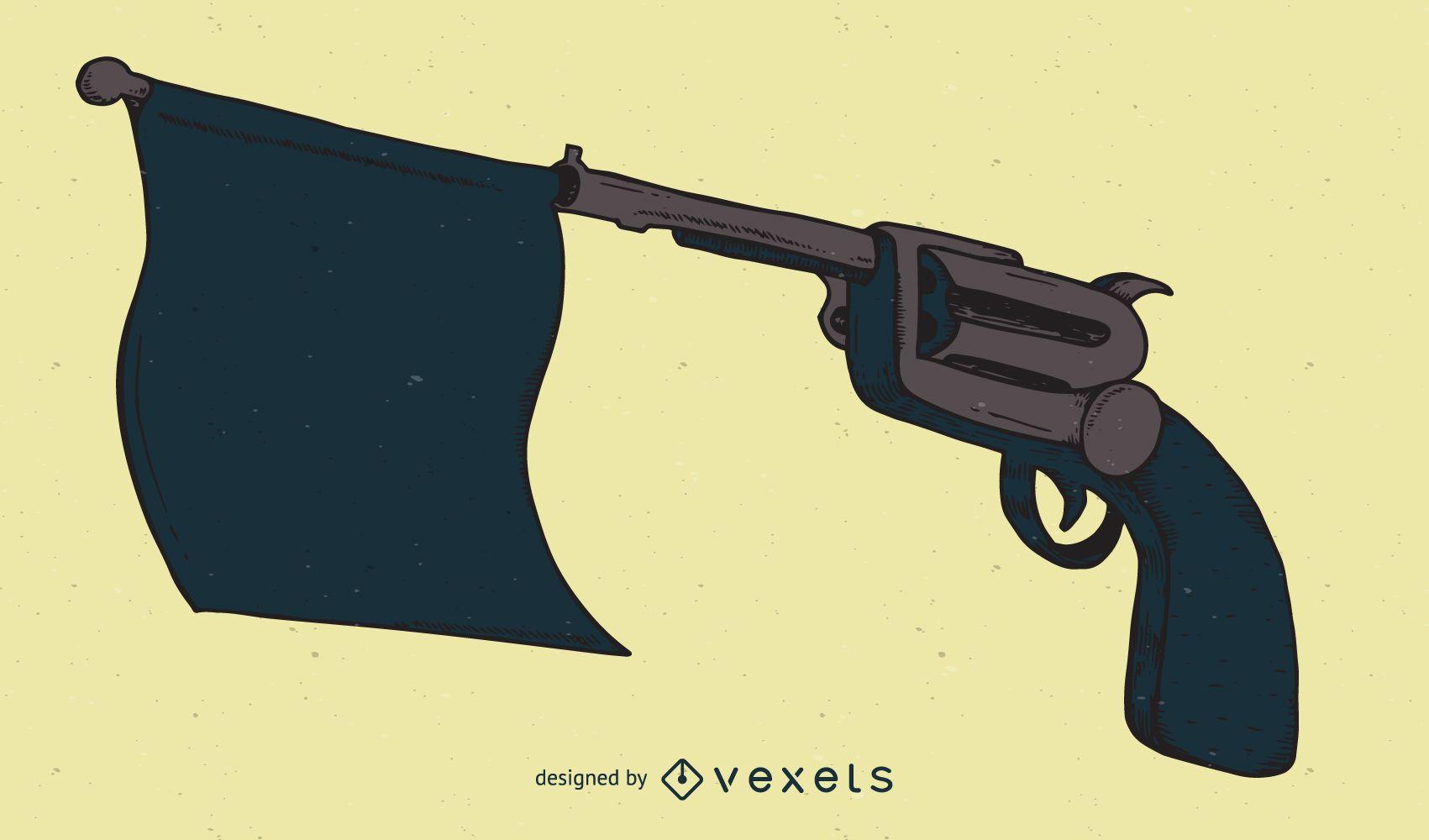 Gun Series Illustration
