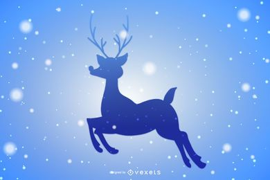 Christmas Starry Reindeer