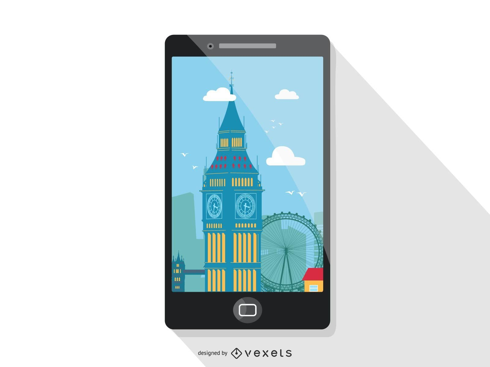 Smartphone travel screen design