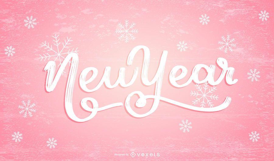 Vektor-neues Jahr-Design