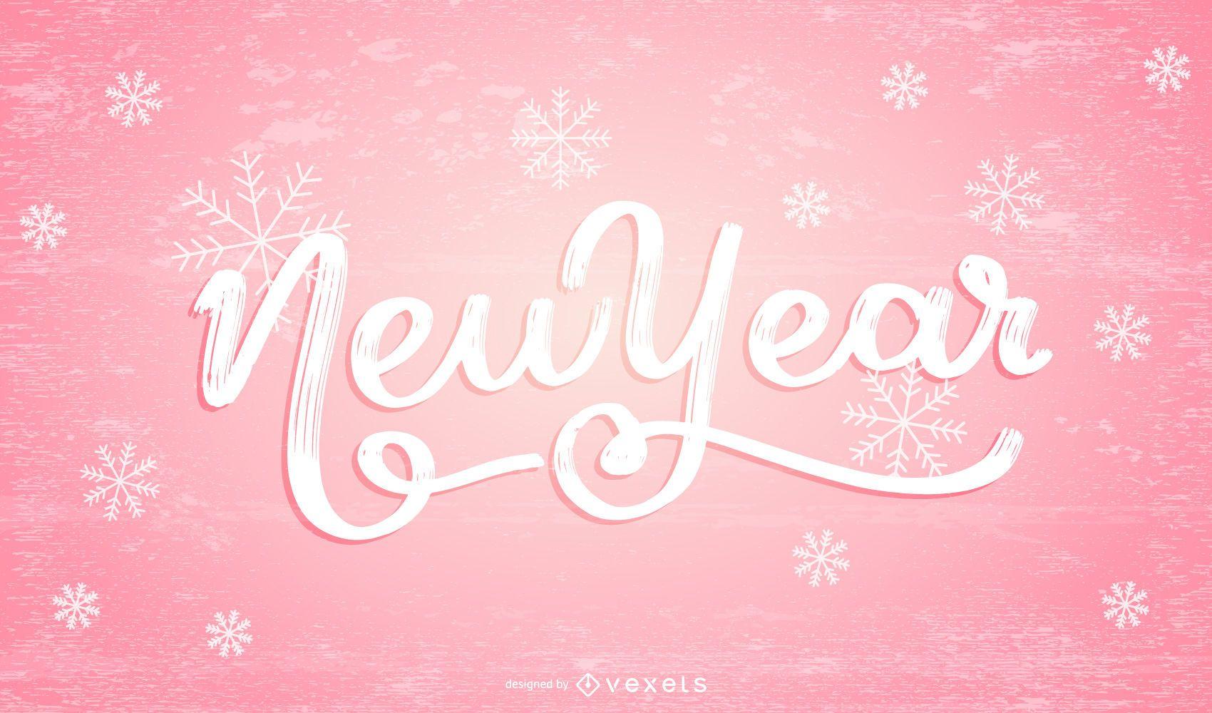 Vector diseño de año nuevo