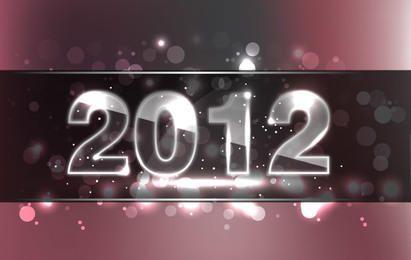 Neues Jahr Design 2012