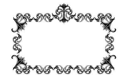 Viktorianischer Rahmen