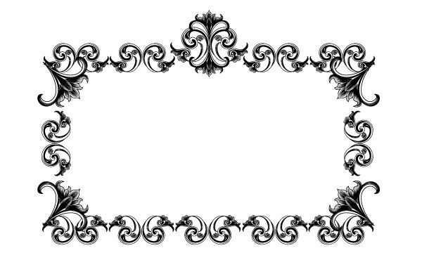 Victorian Style Frame