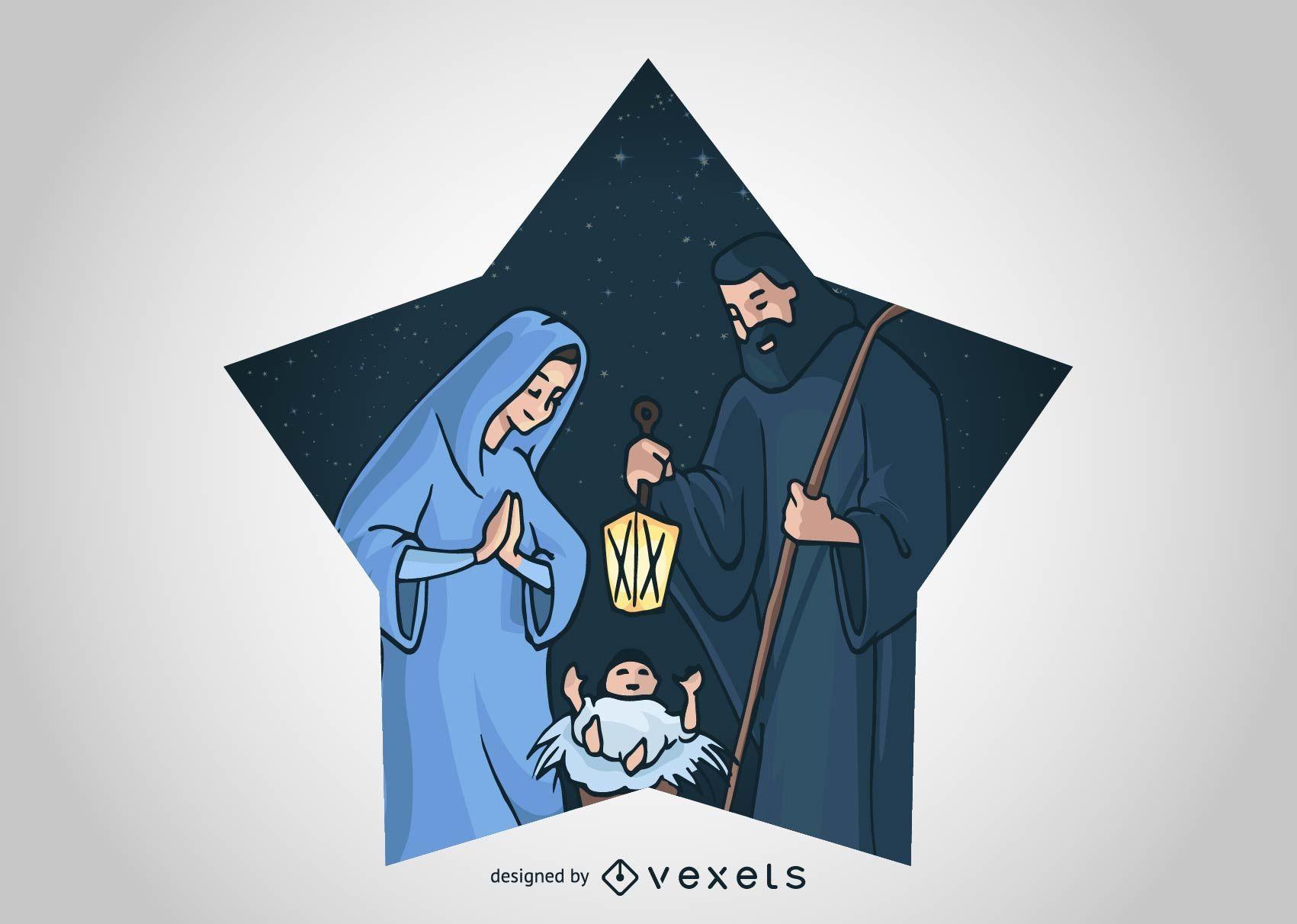 Christmas Nativity Scene 4
